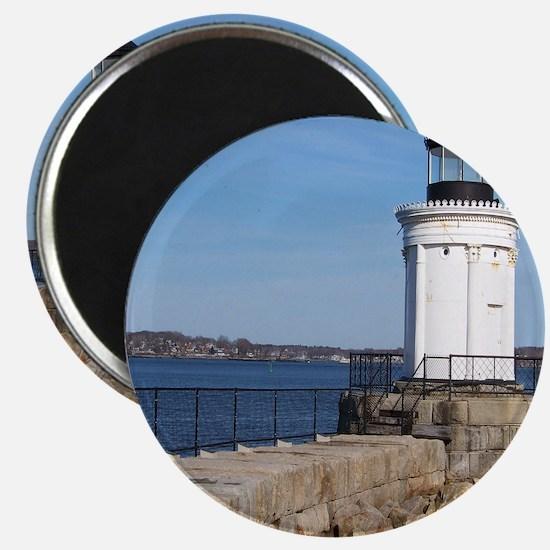 Scenic Bug Lighthouse on Main Magnet