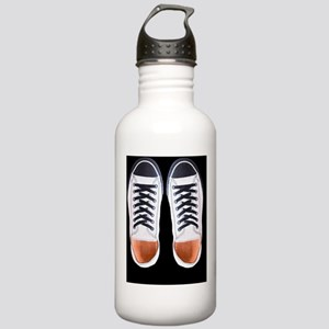 Black and White Sneake Stainless Water Bottle 1.0L