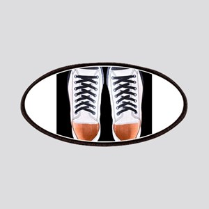 Black and White Sneaker Shoes Patch