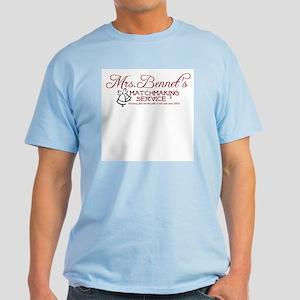 Mrs. Bennet's Matchmaking Service Light T-Shirt