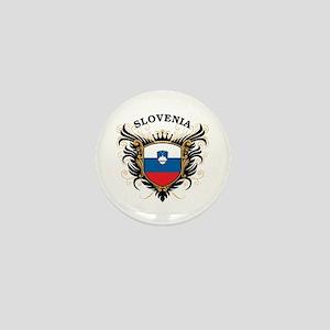 Slovenia Mini Button