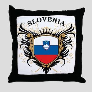 Slovenia Throw Pillow