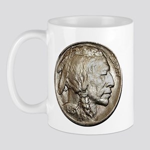 Classic Indian head Nickel Mug