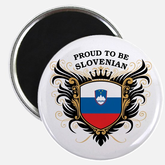 Proud to be Slovenian Magnet