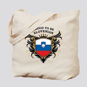 Proud to be Slovenian Tote Bag