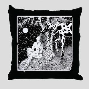 Communing Throw Pillow
