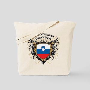 Number One Slovenian Grandpa Tote Bag
