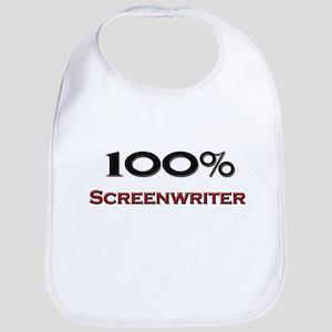 100 Percent Screenwriter Bib