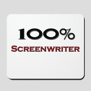 100 Percent Screenwriter Mousepad