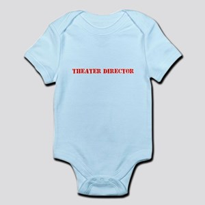 Theater Director Red Stencil Design Body Suit
