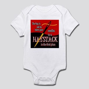 Needle in a haystack Infant Bodysuit