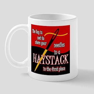 Needle in a haystack Mug