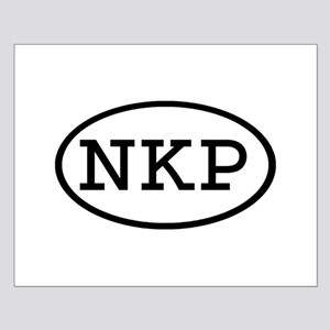 NKP Oval Small Poster