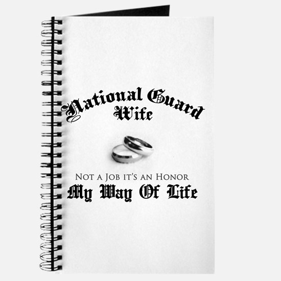 USNG Wife: It's an Honor Journal