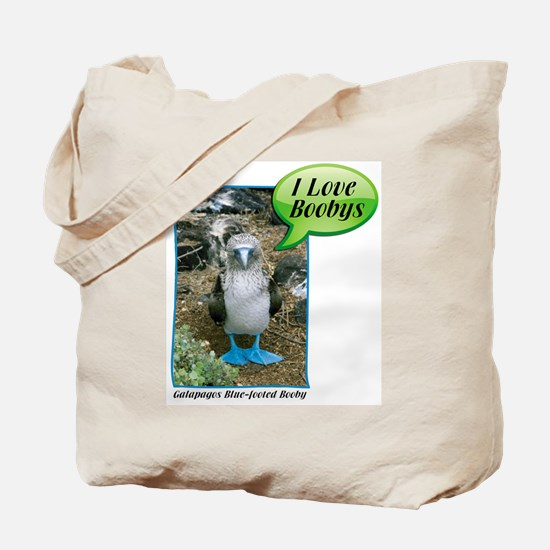 """BLUE FOOTED BOOBY"" BIRDER BAG"