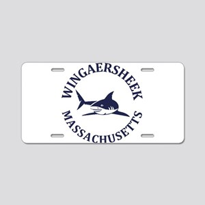 Summer Wingaersheek- massac Aluminum License Plate