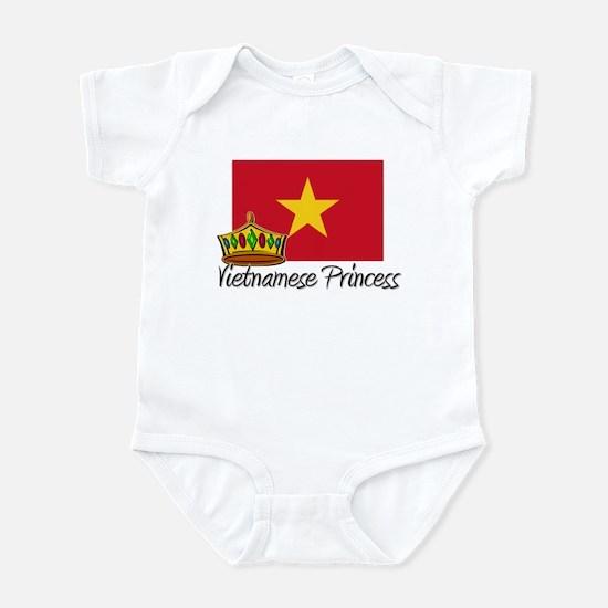 Vietnamese Princess Infant Bodysuit
