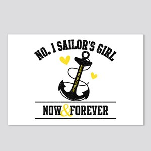 No. 1 Sailor's Girl Postcards (Package of 8)