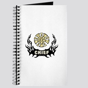 Fire Chief Tattoo Flames Journal