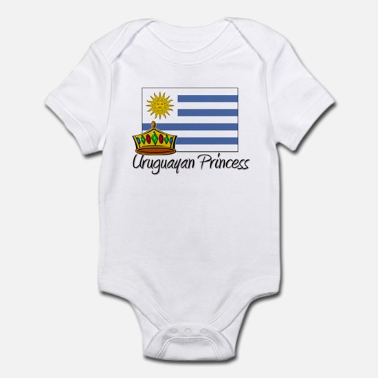 Uruguayan Princess Infant Bodysuit