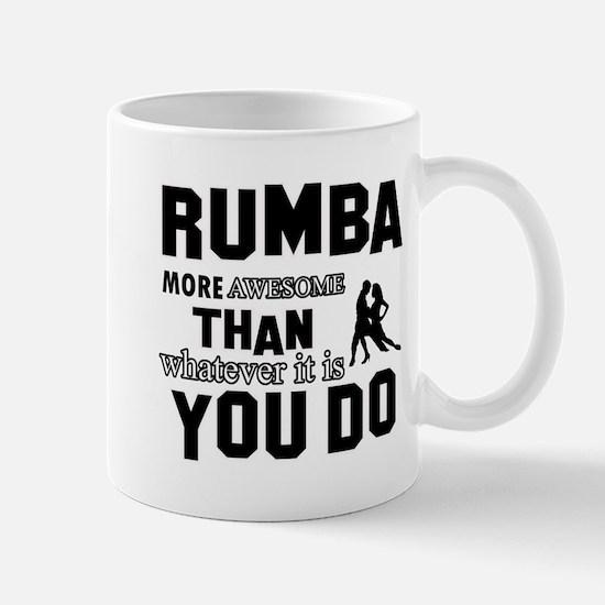 rumba dance design Mugs