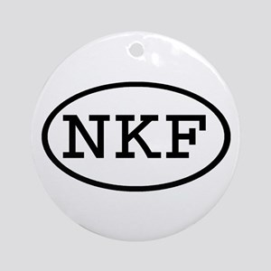 NKF Oval Ornament (Round)