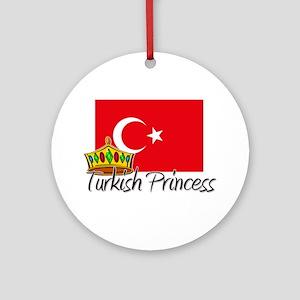 Turkish Princess Ornament (Round)