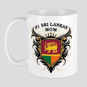 Number One Sri Lankan Mom Mug