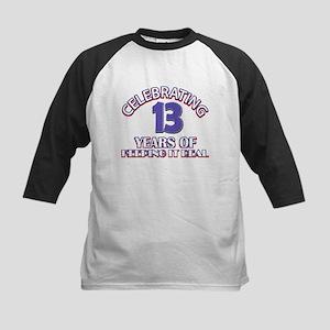 13 birthday design Baseball Jersey