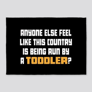 Toddler Trump 5'x7'Area Rug