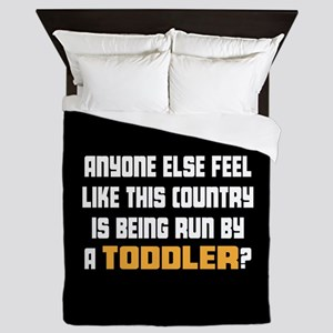 Toddler Trump Queen Duvet