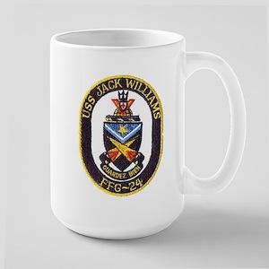 USS JACK WILLIAMS Large Mug