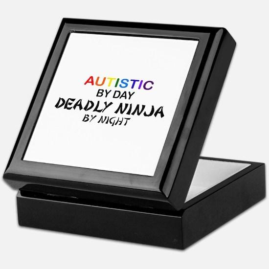 Autistic Deadly Ninja by Night Keepsake Box
