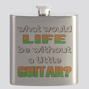What would life be without a little Guitar ? Flask