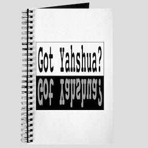 Got Yashua? Journal