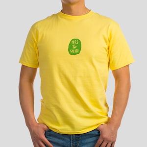 Pass the salad Yellow T-Shirt