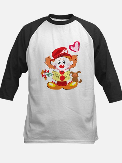 Love Clown Kids Baseball Jersey