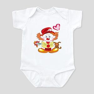 Love Clown Infant Bodysuit