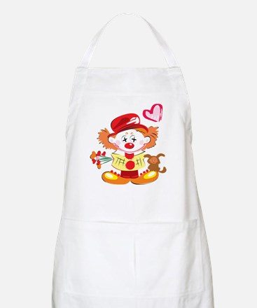 Love Clown BBQ Apron