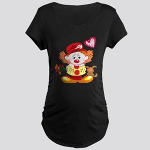Love Clown Maternity Dark T-Shirt