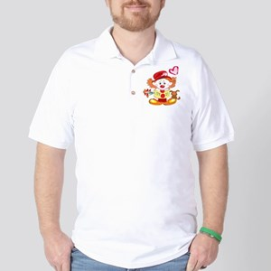 Love Clown Golf Shirt