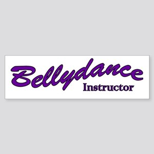 Instructor purple Bumper Sticker