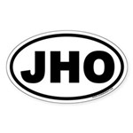 JHO Euro Oval Sticker