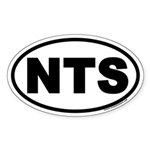 NTS Euro Oval Sticker