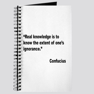 Confucius Real Knowledge Quote Journal