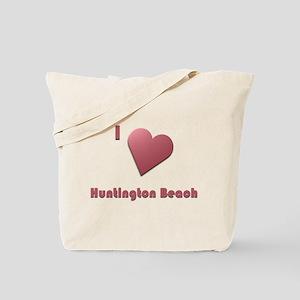 I Love Huntington Beach #12 Tote Bag