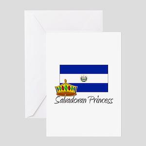 Salvadoran Princess Greeting Card
