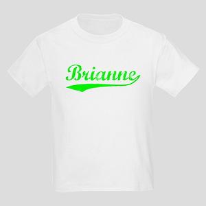 Vintage Brianne (Green) Kids Light T-Shirt