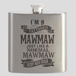 TATTOOED MAWMAW Flask