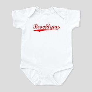 Vintage Brooklynn (Red) Infant Bodysuit
